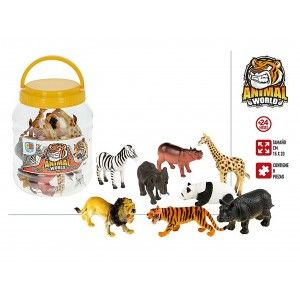 Animal Boat with 8 Accessories, Animal Figures Child. Toys for children 155 x 155 x 205 mm
