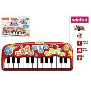 Piano Alfombra Gigante Infantil con Luces y Melodías, Juguetes para Bebés. Juego Musical Niños 56x8x41 cm