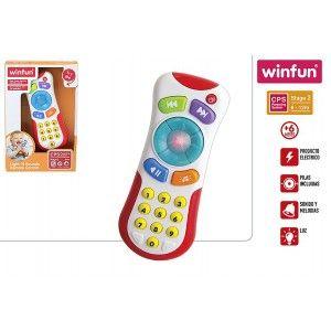 Mando Infantil con Sonidos y Luces, Juguetes para Bebés. Control Remoto Niños 14,5x4x22 cm