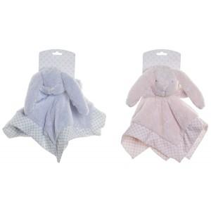 Doudou Conejito con Luanres, Ideal para Niños y Bebés, Diseño Animal, Doudou Infantil 28x28cm - Hogar y Más