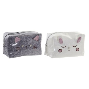 A Travel beauty case for Women with the Form of Cats, Design Kawaii, Original style/Modern 17x8,5x11cm - Home and more