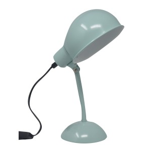 Lamp/Gooseneck Flatbed,Light-Blue, early Childhood Environment Ideal for decorating. Vintage/Modern 15X12X26cm-Home and more