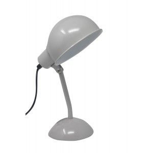 Lamp/Gooseneck Desktop Grey, early Childhood Environment Ideal for decorating. Lamps Table with Grey Light, Vintage/Modern