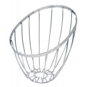 Fruit dish Metal Oblique Modern, Fruit Basket of Metal. Baskets Storage Food 26,5 cm