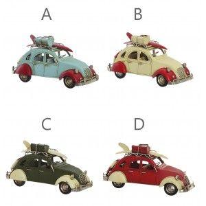Car Decorative Vintage, Decorative Figure made of Metal. Old design/Realistic 26x11,5x13,5 cm