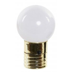 Bombilla Decoración Luminosa LED con Imán, Bombilla Decorativa 4,5X4,5X7 cm
