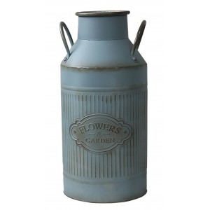 Umbrella holder High Metal gray patina cool design pitcher Factory with handles, Flowers & Garden