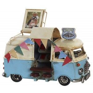 Vehicle Creps Vintage Figure Vehicle Decorative Metal. Old design/Realistic 20X11X13 cm - Home and More