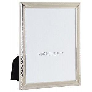 Photo frame of Metal and Glass 20 x 25 cm, Porta photos Metallic. Frames Original Photos 22,2x2x27,5 cm