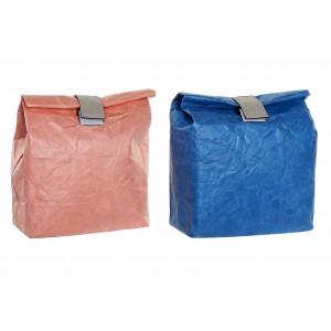 Bolsa Térmica Porta Alimentos Pequeña con Velcro, Bolsas Térmicas Comida para Llevar 20X10X28 cm