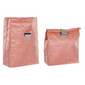 Insulated bag Carries Food Small with Velcro, Bags Thermal Food to Take 20X10X28 cm