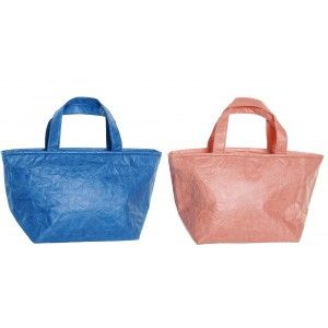 Insulated bag Carries Food Large with Handles. Bags Thermal Food to Take 35x15x20 cm