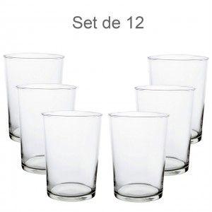 Vaso de sidra 50cl, Corte Caliente, 12 uds. Vajilla Elegante y Moderna set de 12 - Hogar y Más