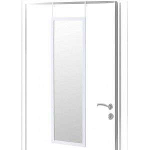 Mirror for Door, Modern White color PVC for Bedroom, no Holes - Home and More