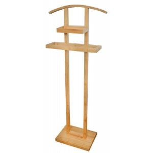 Valet for Bedroom, Hall Stand Original, trouser press Wooden 115x47x13,5cm - Home and More