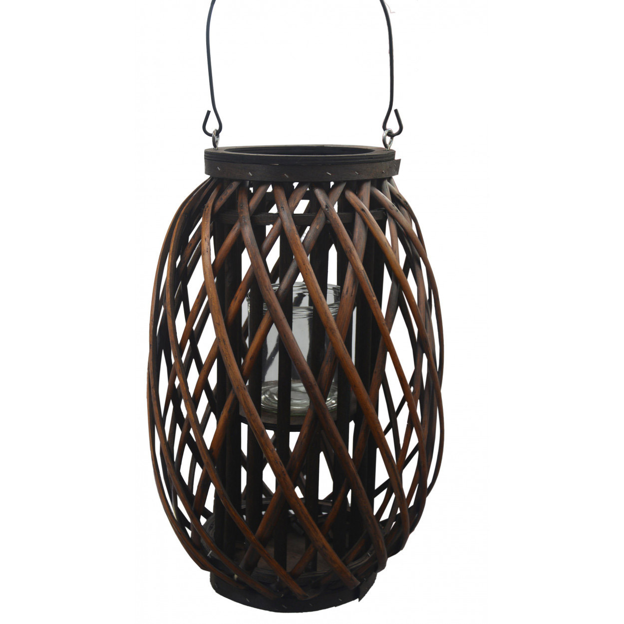 Porta-candles, Decor, Wicker, Decor Hanging Candles. Large holder candle 27x27x40 cm