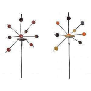 Aplique Porta-velas Pared de Cerámica, Decoración Colgante. Porta velas Decorativo Artesanal 82x51 cm