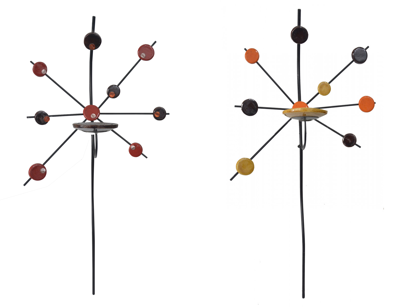 Apply holders Ceramic Wall, Decorative Pendant. Porta candles Decorative Craft 82x51 cm