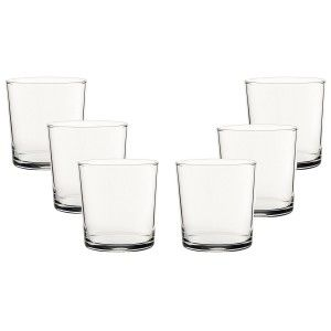 Pint glass 36cl, Cut Hot, 6 pcs. Elegant crockery and Modern set of 6 - Home and More