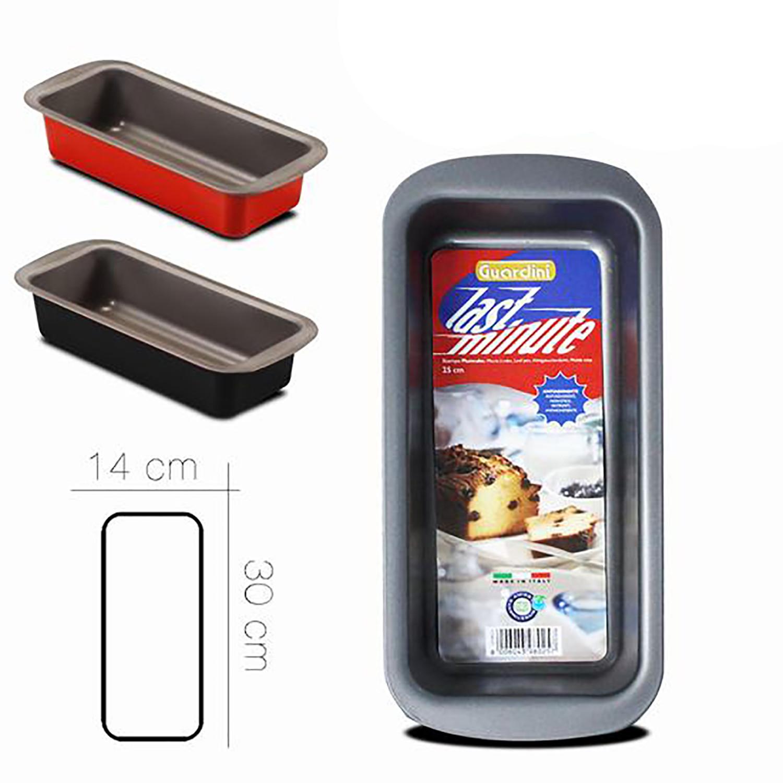 Mold Plumcake baking, Moulds for Cakes non-Stick, Mold Plumcake Rectangular, 14x30cm