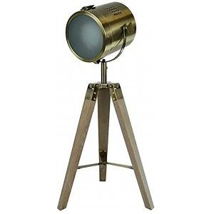 Lámpara de Pie Foco Vintage estilo Industrial para Decoración de Estudios, Esparates, Hogar 66X32 cm