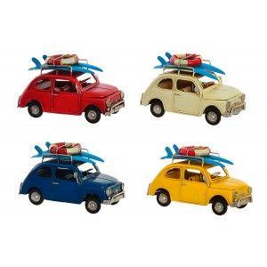 Car Decoration Vintage Vehicle Metal 15,7x8x8,5 cm