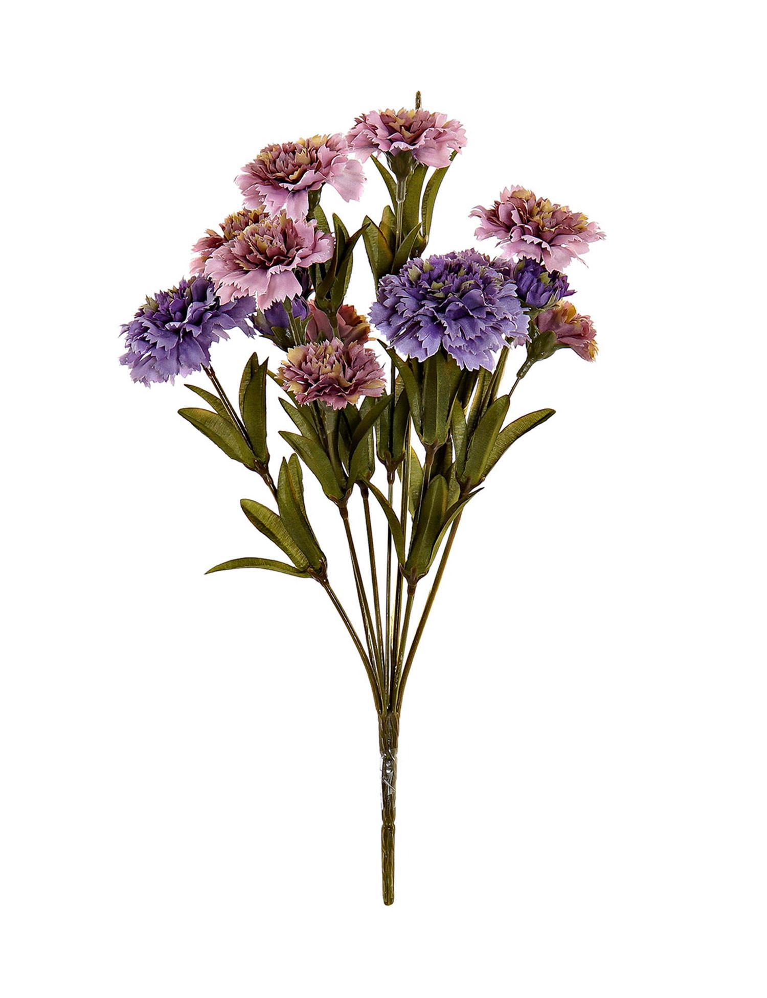 Bouquet of Flowers Lilac Artificial Polyester PVC 20x20x33 cm