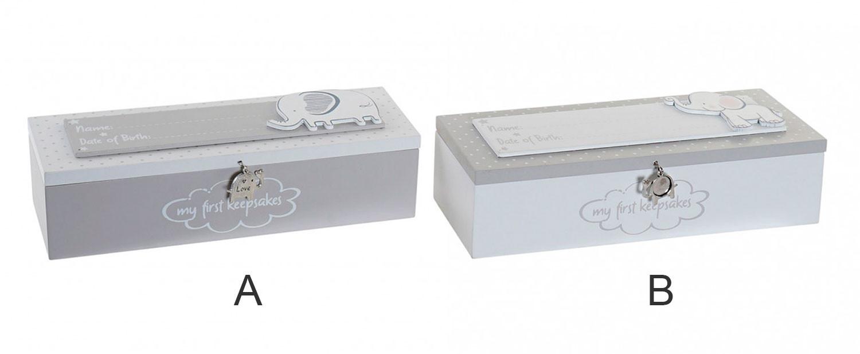 Caja Metal MDF Elefante 24x8x6