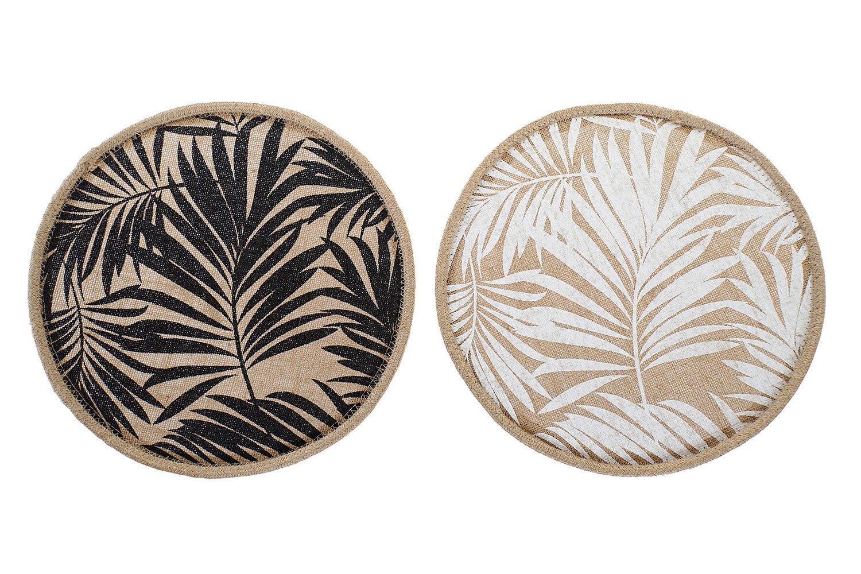 Salvamantel Individual Circular Balinese Style 38x0,5 cm