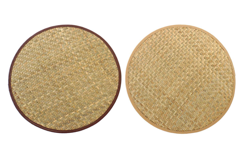 Salvamantel Individual Circular Estilo Boho 38x1,5 cm