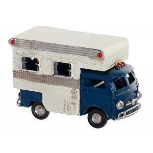 Motorhome Decor Vintage Vehicle Metal 11,5x5x8