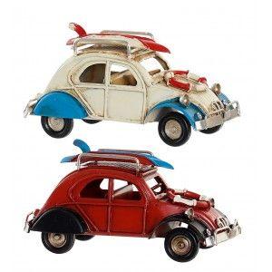 Car Decoration Vintage Vehicle Metal 11,3x5x5,7 cm