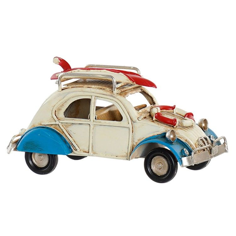 Auto Decoratie Vintage Metalen Voertuig 11 3x5x5 7 Cm
