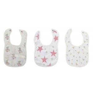 Bib for Baby colors, Set of Bibs for Baby Cotton 19,5x31 cm
