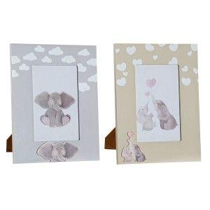 Photo frame, Children's ceramics (15x20 cm) 2 colors