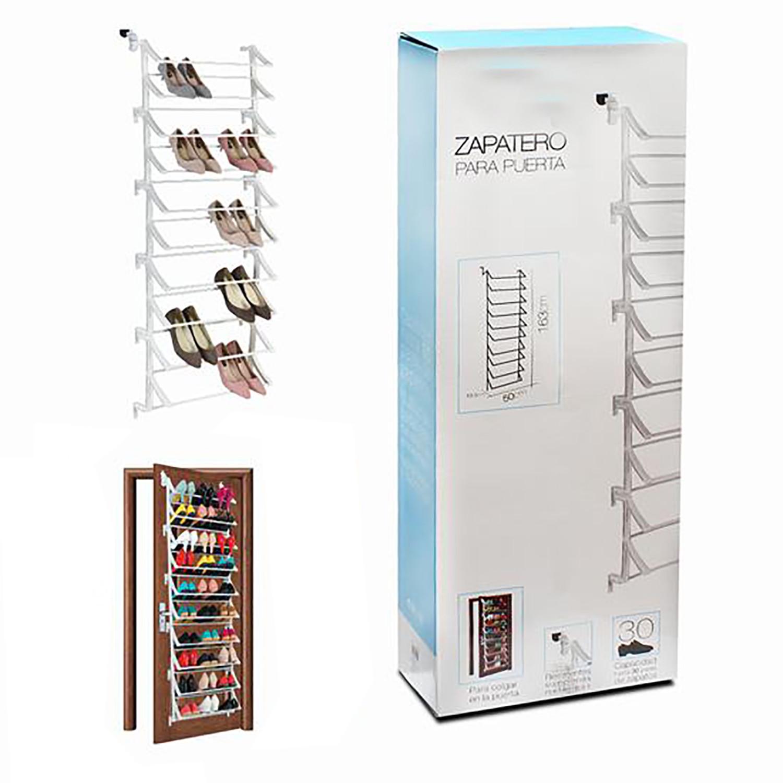Shoe rack Hanging for Door, Shoe Door, Oragnizador, Shoe rack SAVES SPACE Vertical, 163x50x19,5cm EASY MOUNTING