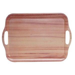 Bandeja Cocina de Bambu Reciclado, Diseño de Madera, Utensilios Cocina