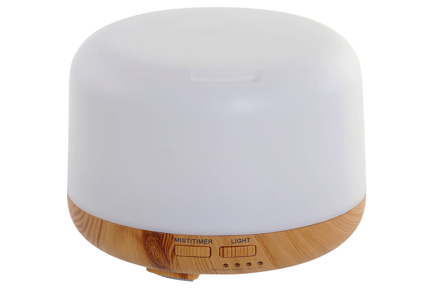 Humidifier Diffuser Aromatherapy Led 300ml 13,5X13,5X9,5cm
