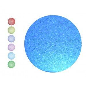 Bola Decorativa Luminosa Multicolor, Decoración Lampara Luces LED 3 Tamaños a elegir