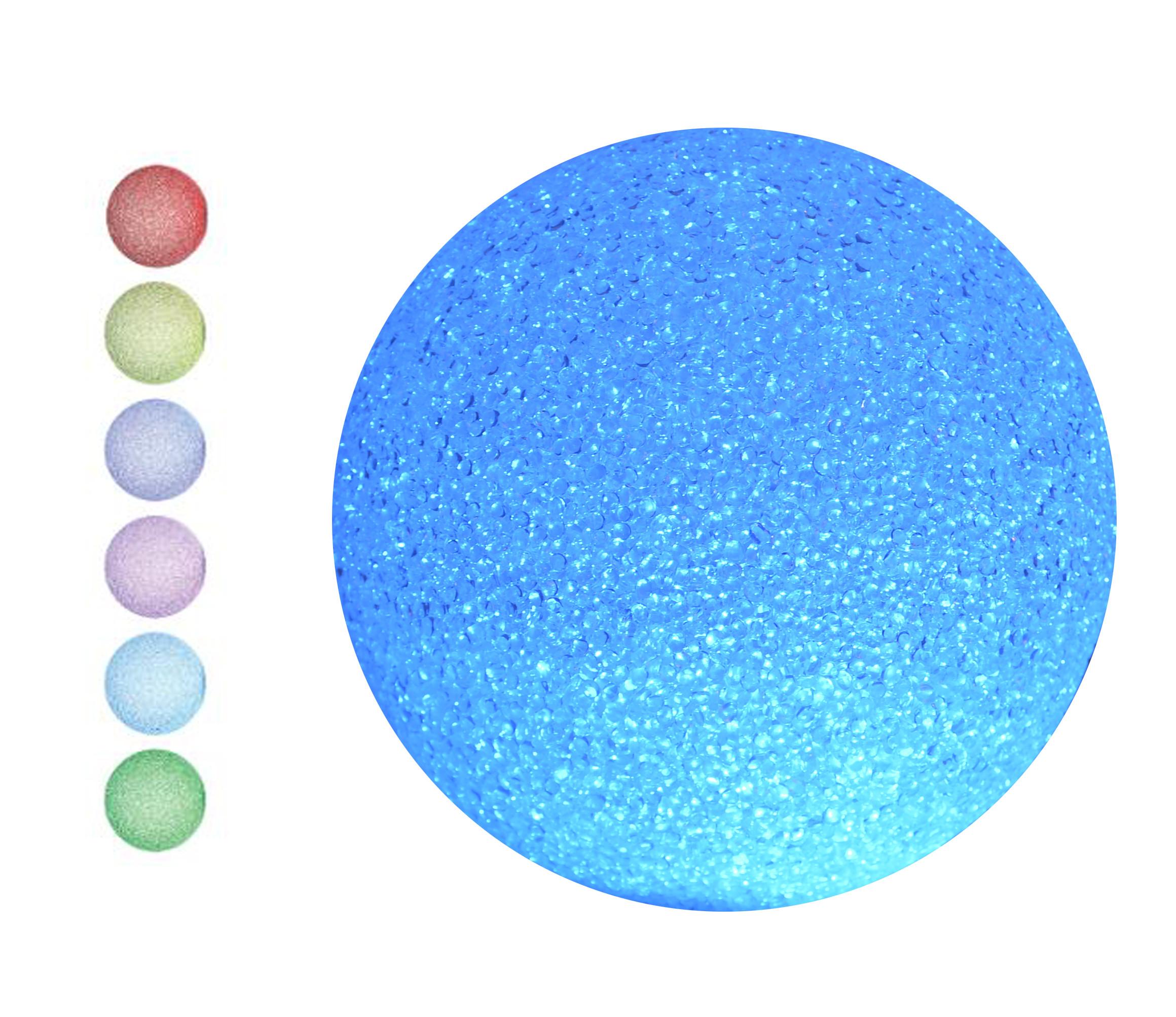 Bola Decorativa Luminosa Multicolor, Decoración Luces LED 3 Tamaños a elegir