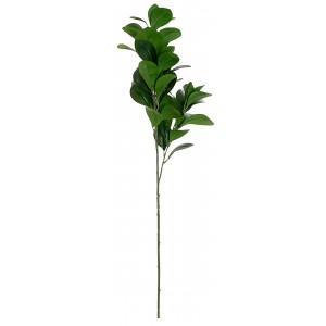 Planta/Rama Verde artificial, Ramas decorativas altas de Metal y PE 25X17X82cm