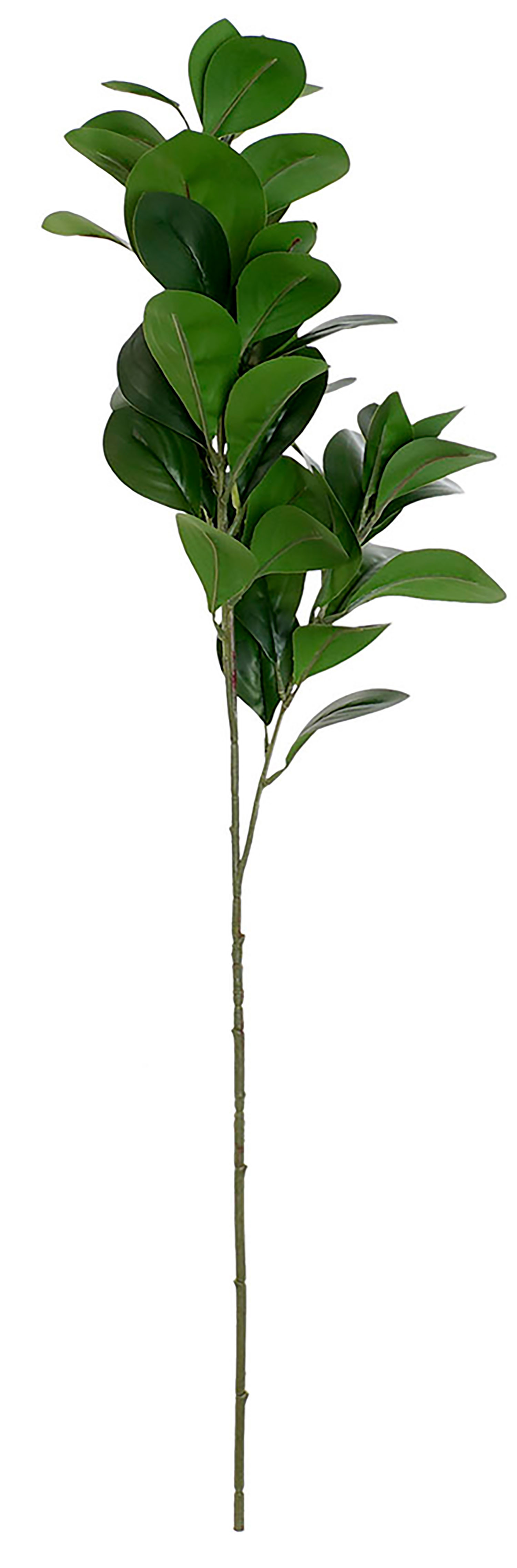 Plant/Branch Green artificial Branches, decorative high Metal and PE 25X17X82cm