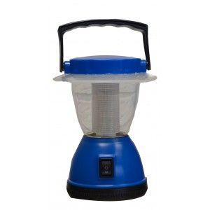 Lámpara/ Linterna de Camping Led 12, color azul 12X15,5X12cm