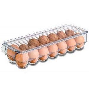 Caja de almacenamiento para huevos, Capacidad para 12 huevos 32,5X11,5X7,2cm