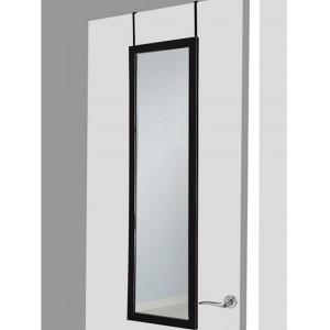 Espejo para puerta negro sin agujeros