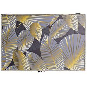 Tapa Contador de Luz Decorativo, Diseño Floral con Estilo Oirginal y Moderno 46,5x6x31cm.