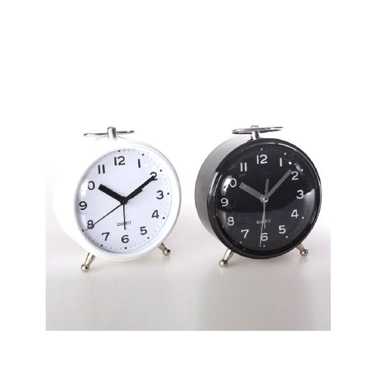 Reloj despertador metal, Hogar y Mas