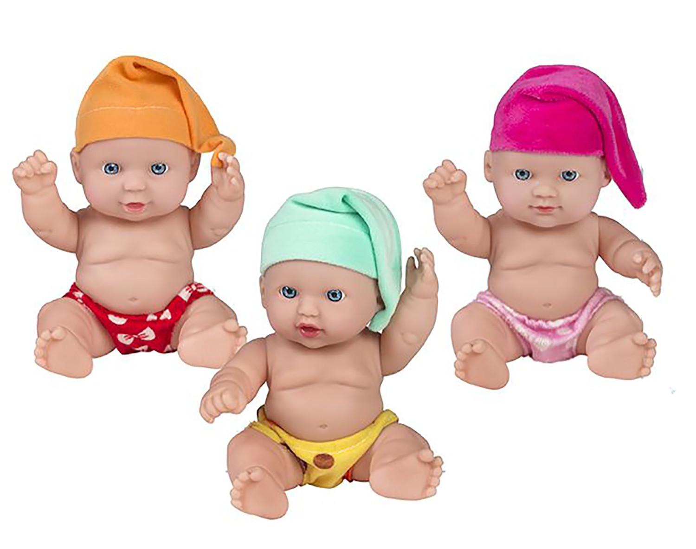 Muñeco bebé recien nacido de juguete para niños, bebe con Gorrito infantil 20cm