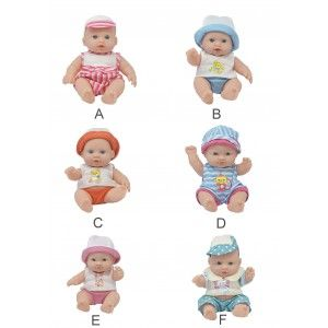 Muñeco Bebe Gordito de Juguete para  Niños y Niñas, bebes con estilo original y Infantil, 20cm