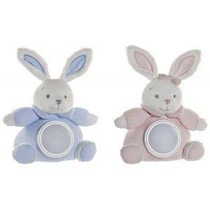 Peluche con Luz para Dormir, con Forma de Conejo, Artículos Infantiles Originales, Lámpara Peluche. 24x14x30cm